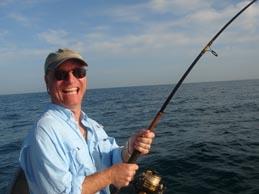 John fishing